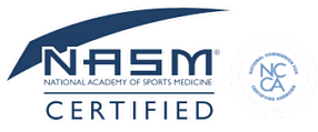 Certified by the National Academy of Sports Medicine